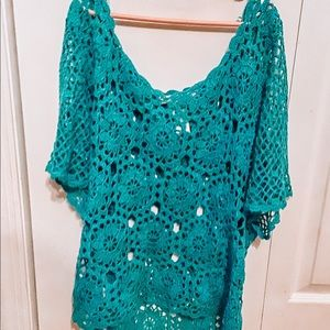 Lagoon Blue Summer Cover-Up
